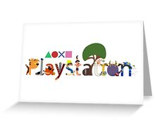 Character Caracters Greeting Card