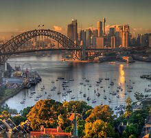Then There Was LIght #2 - Sydney Harbour Sydney Australia - The HDR Experience by Philip Johnson
