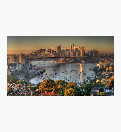 Then There Was LIght #2 - Sydney Harbour Sydney Australia - The HDR Experience Photographic Print