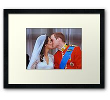 That Kiss Framed Print
