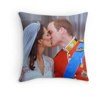 That Kiss Throw Pillow