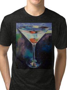 Bombay Sapphire Martini Tri-blend T-Shirt
