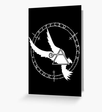 Crippled Black Phoenix 2015 A.D. (White V.2) Greeting Card