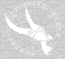 Crippled Black Phoenix 2015 A.D. (White V.2) Kids Tee