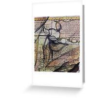 breathe me  Greeting Card