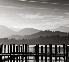 Derwent Water Landing Stages, Keswick by mountainsandsky