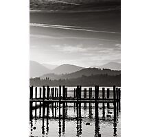 Derwent Water Landing Stages, Keswick Photographic Print