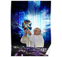 DJ EDM Earth Pope Francis The Pope is Dope! Poster