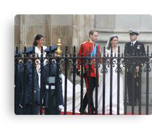 PRINCE WILLIAM AND CATHERINE MIDDLETON  Metal Print