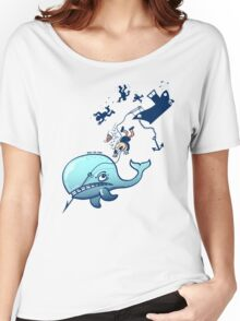 Whales are Furious! Women's Relaxed Fit T-Shirt