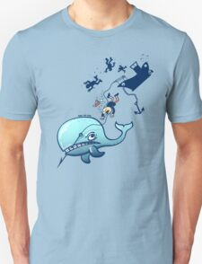 Whales are Furious! Unisex T-Shirt