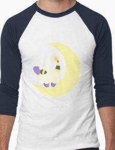 Moon Mareep Men's Baseball ¾ T-Shirt