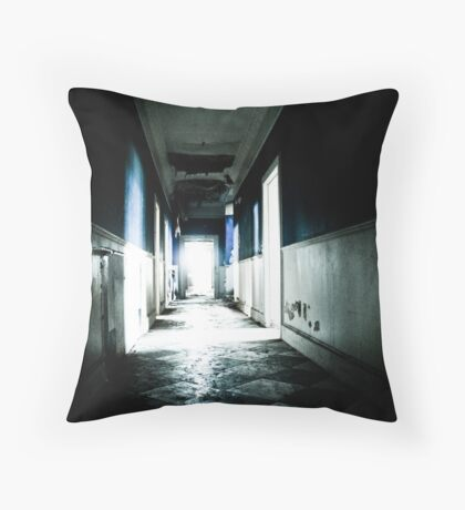 Hurry, or you'll be late for class Throw Pillow