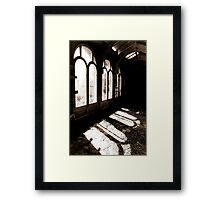 For this little hour Framed Print
