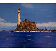 """Fastnet Rock Light""  (County Cork, Ireland) Photographic Print"