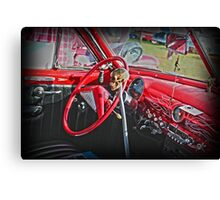 Red Hot Chilli Chevy Canvas Print