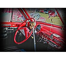 Red Hot Chilli Chevy Photographic Print