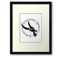Crippled Black Phoenix 2015 A.D. (Black V.1) Framed Print