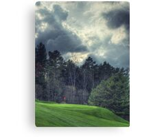 The Green at Hole #1 Canvas Print
