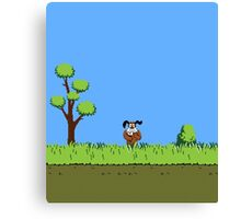 Duck Hunt Dog Canvas Print