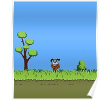 Duck Hunt Dog Poster