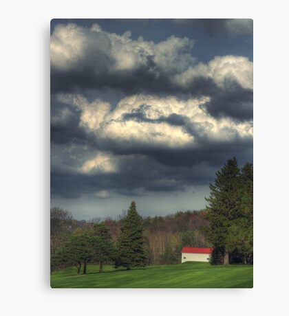 Fairway Cloudscape Canvas Print