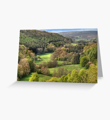 The View from Treacle Mansion Greeting Card