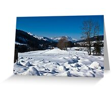 Snowscape 1 Greeting Card