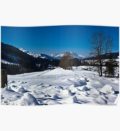 Snowscape 1 Poster