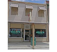 Dirty Sally's Saloon, Brunswick, Missouri, USA Photographic Print