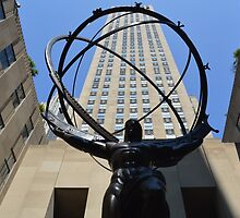30 Rockefeller Plaza by Kate Hanning