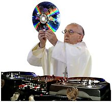 DJ Earth Pope Francis, EDM Holy Father by O O