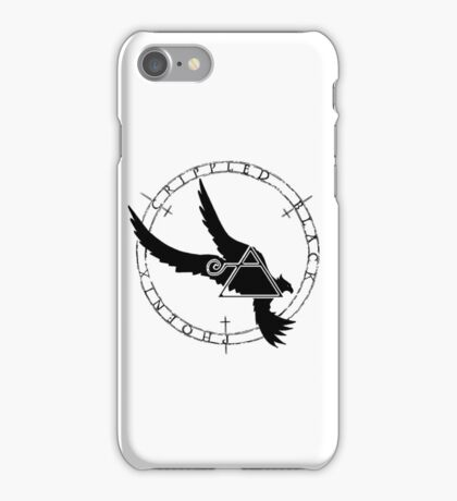 Crippled Black Phoenix 2015 A.D. (Black V.2) iPhone Case/Skin