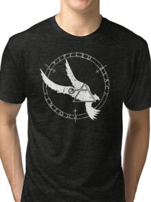 Crippled Black Phoenix 2015 A.D. (White V.1) Tri-blend T-Shirt