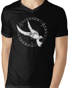 Crippled Black Phoenix 2015 A.D. (White V.1) Mens V-Neck T-Shirt