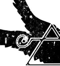 Crippled Black Phoenix 2015 A.D. (Black V.1) Sticker