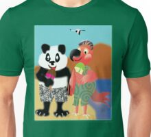 Larravide Ice Cream Stroll Unisex T-Shirt