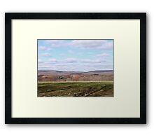 Pastel Plains Framed Print