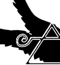 Crippled Black Phoenix 2015 A.D. (Black V.2) Sticker
