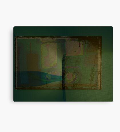 motel room  Canvas Print
