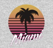 Miami One Piece - Long Sleeve
