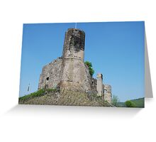 Burg Lundshut Greeting Card