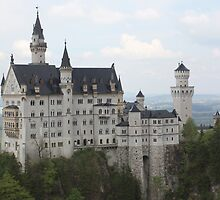 Neuschwanstein Castle, Germany by Indrani Ghose