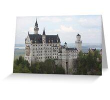 Neuschwanstein Castle, Germany Greeting Card