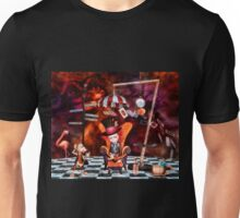 Madness in the Hatter's Realm Unisex T-Shirt