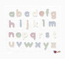 Fridge Letters - Texty illusion by MojoStaplegun