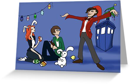 The Doctor is Late: Happy Holiday Greetings! by Barbora  Urbankova
