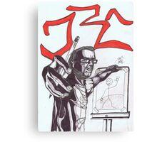 D15 Canvas Print