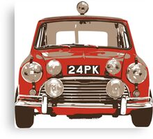 Classic Mini Rally Canvas Print
