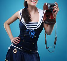 """Smile"" Pin-up girl  by Laura Balc Photographer"